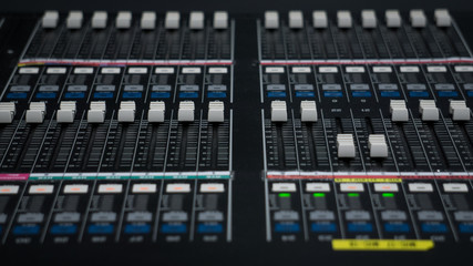 Audio Mixer for Tv Control Room