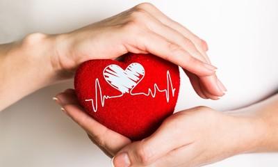 Heart shape.