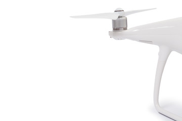 Wall Mural - drone isolated on a white background