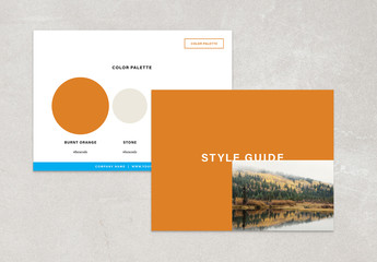 Basic Style Guide Layout
