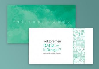 Infographic Presentation Layout