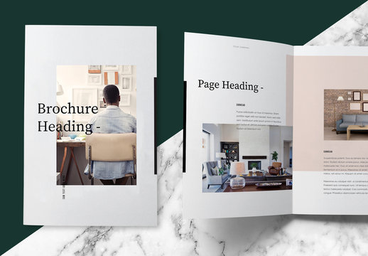 Pastel Brochure Layout