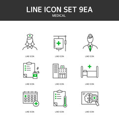 Medical Line Icon