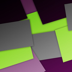 Abstract geometric background with rectangles