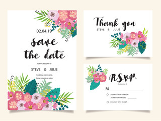 wedding template and elements