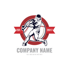 Baseball Sport Logo Emblem, Logo Template Designs