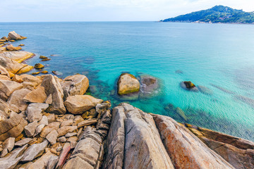The nature of Koh Phangan in Thailand.
