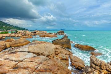 Morning at Coral Cove beach. Koh Samui, Thailand.