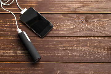 phone mobile connect to battery power bank