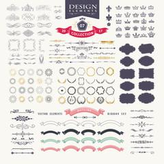 Premium design elements. Great for retro vintage logos