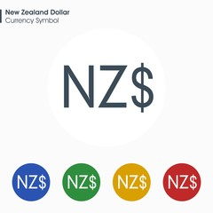 New Zealand Dollar Sign Photos