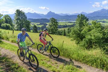 Ausflug mit dem Mountainbike