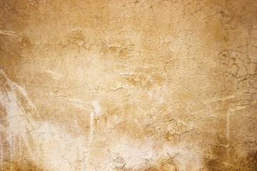 Autocollant pour porte Retro Beige concrete wall background