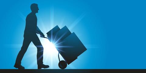 livraison - rapide - express - service - colis - logistique - coursier - livrer
