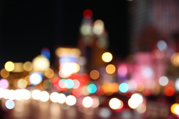 City lights - Las Vegas