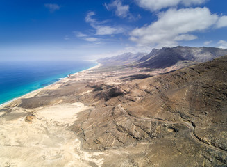 Cofete beach,Fuerteventura,Spain