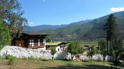 Landscape pictures of Bhutan Thimpu