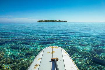 paddle board in tikehau