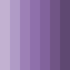 Abstract conceptual background of rectangles in different shades of purple, lilac. Halftone effect. Color palette. Vector illustration.