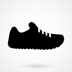 sneakers silhouette icon