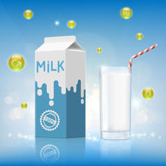 Design of dairy product.