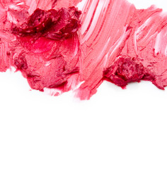 Lipstick isolated on white background