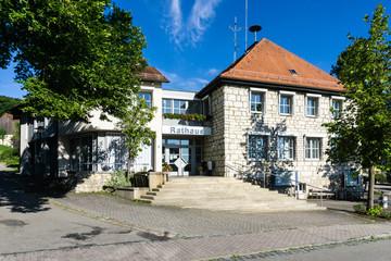 Rathaus von Seubersdorf in dern Oberpflaz
