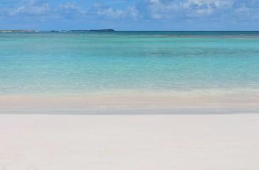 beach background  tropical wave Paradise white sandy sand beach copy space