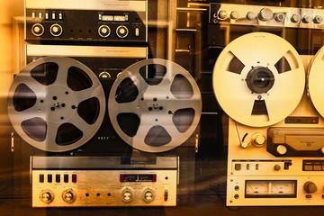 Retro Tonbandgeräte
