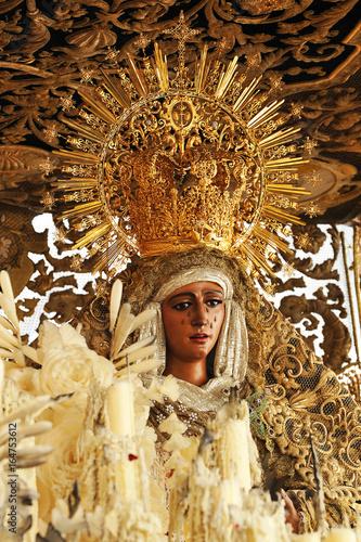 Virgen Esperanza De Triana Sevilla Stock Photo And Royalty Free