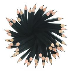 Close-up of black pencils