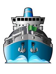 Ship, natural gas tanker