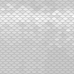 Abstract scale pattern. Roof tiles background.