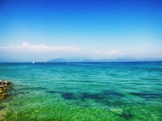 Lac de Garde à Sirmione en Italie