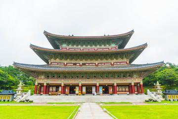 Yakcheonsa Temple in Jeju Island, South Korea
