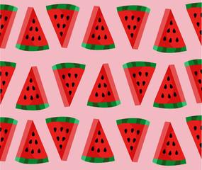 Cute Watermelon slice pattern