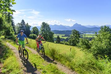 Radsport in herrlicher Landschaft