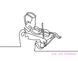 trendy continuous line black and white drawing in minimalistic s