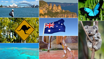 Travel Australia postcard