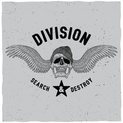 Division Search And Destroy Poster