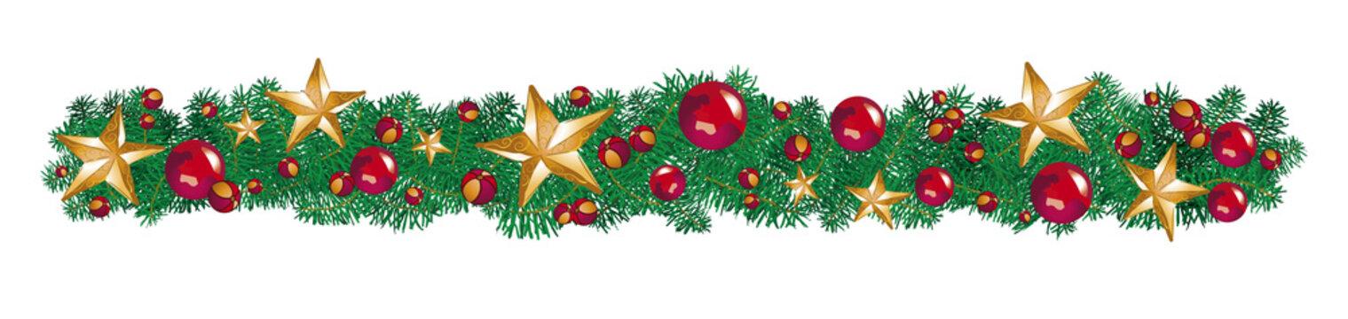 Noel guirlande sapin + étoiles 2
