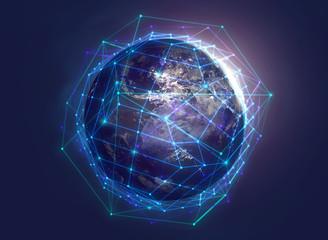 Verbindungen über den Globus