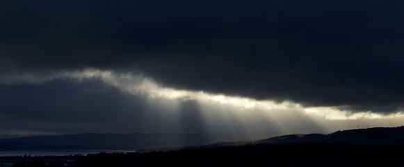 Cromarty Firth Storm