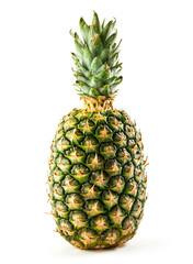 Fruit pineapple isolated on white background