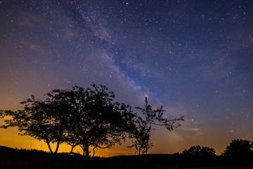 Milchstraße im Sonnenuntergang