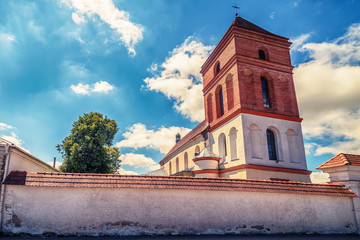 Belarus: Catholic Church of St. Nicolas in  Mir