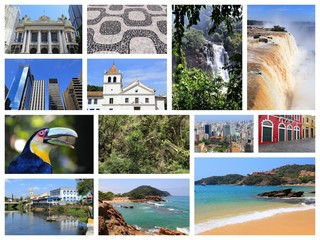 Brazil collage