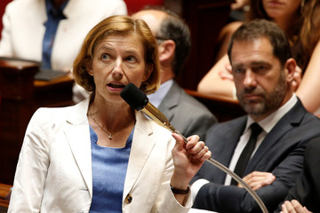 French Minister of the Armed Forces Florence Parly attends the questions to the government session at the National Assembly in Paris