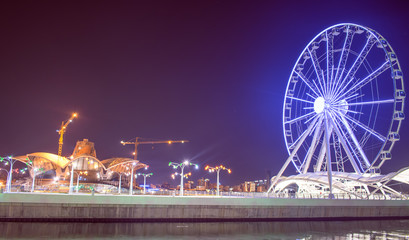 night carousel, london eye