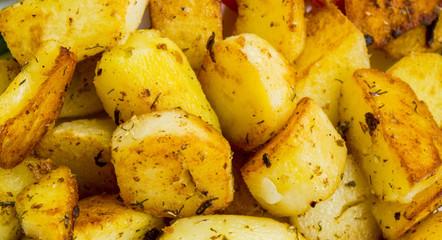 Barbecue potatoes